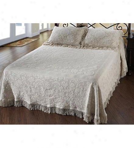 Usa-made Queen Eluzabeth 100% Cotton-wool Matelasse Textured Standard Sham
