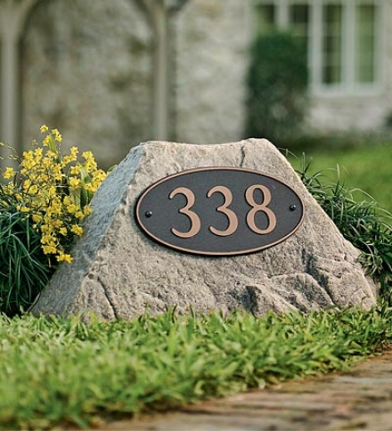 Usa-made Small Address Mock Rocks®
