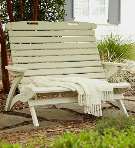 Usa-made Southern Pine Wood Outdoor Epic Settee
