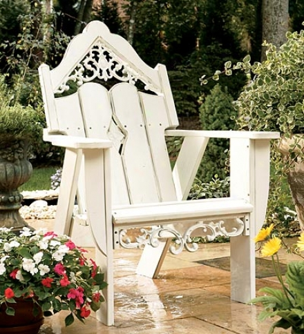 Usa-made Southern Pine Wod Outdoor Veranda Chair