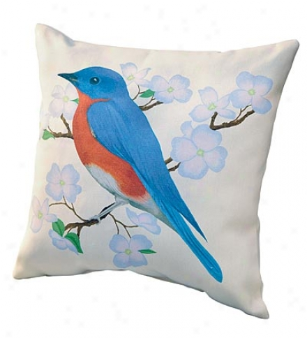 Usa-made Spring Bird Outdoor Weather-resistant Pillowbuy 2 Or More For $21.95 Each.