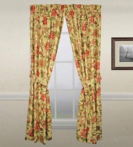 "Vareen Floral 54"" Pairs"