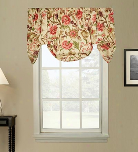 Vareen Floral Tailored Valance