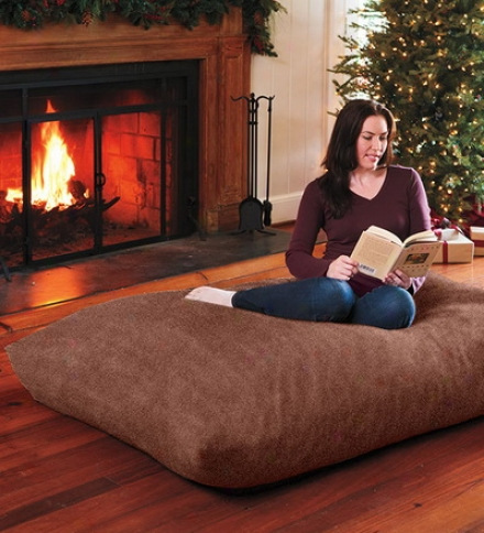 Versatile Oversized Floor Pillow