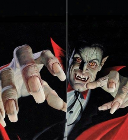 Vince The Vampire Full-color High-grade Translucent Window Poster