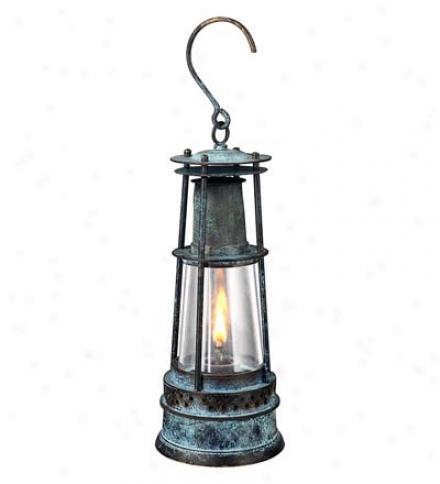 Vintage Miner's Oil Lantern