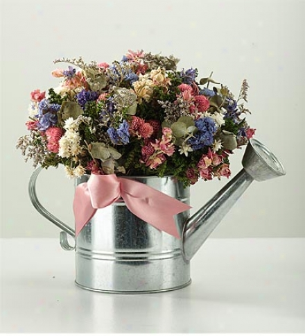 Watering Can Floral Arrangement