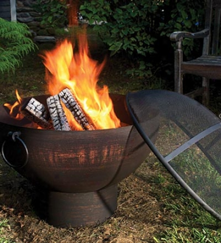 Weather-resistant Capacious Outdoor Fire Bowl