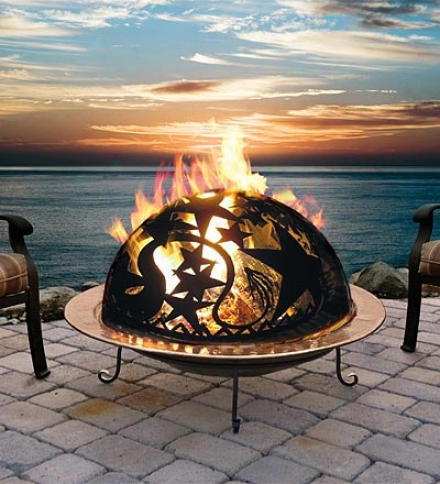 Weather-resistant Orion Fire Dome