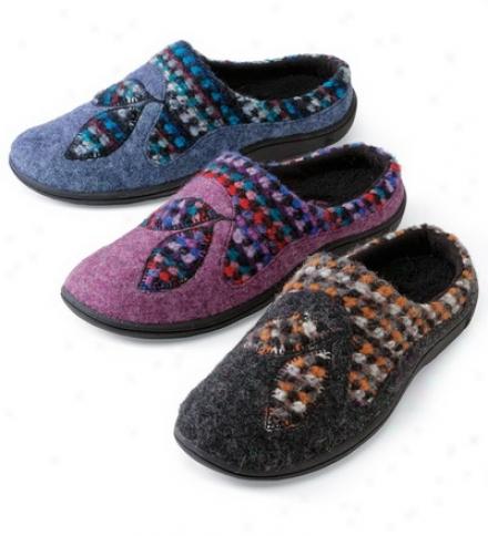 Women's Acorn?? Italian Wool Drew Mules