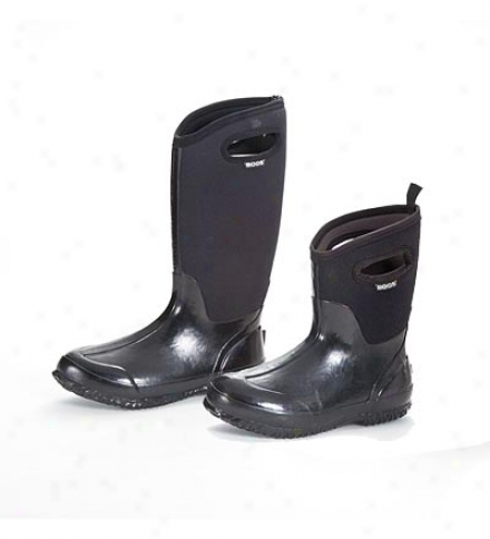 Women's Bogs Insulated, Waterproof High Black Boots