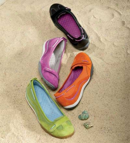 Women9s Bright And Colorful Privo By Clarks® Polar Lake Slip-on Shoe