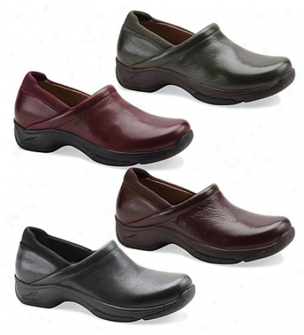 Women's Dansko Waterproof Leather Kelsey Clogs
