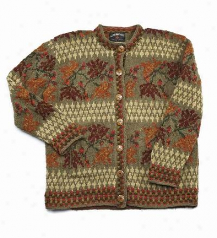 Women's Handmade New Zealand Wool Sweater