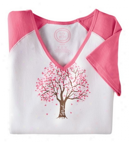 Women's Life Is Goo® Heart Tree Loungewear