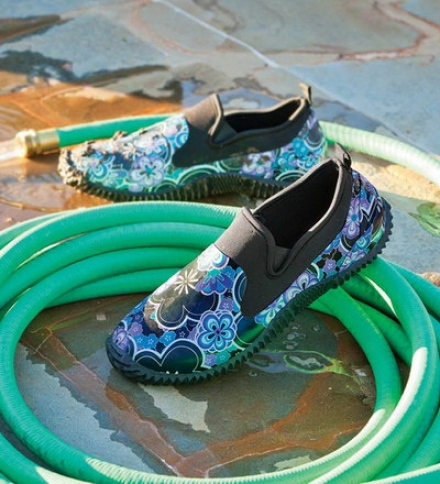 Women's Slip-on Rubber And Neoprene Garden Shoe