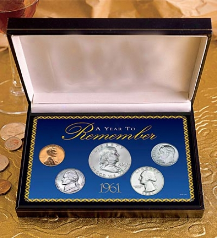 Year To Remember Coin Set 1965-2011