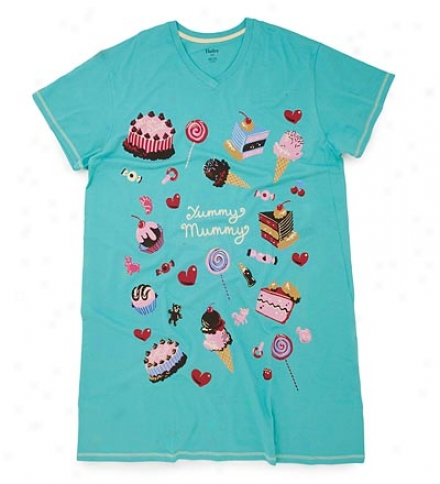 Yummy Mummy Cotton Sleepshirt