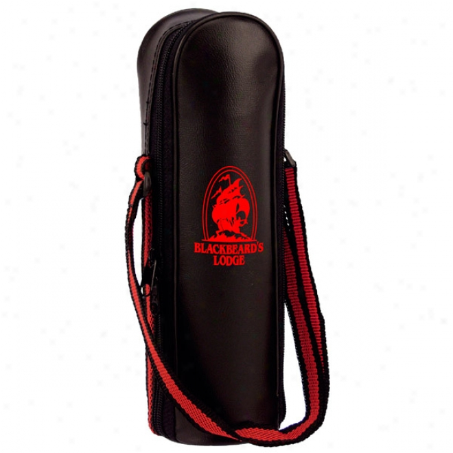 1 Liter Black Vinyl Carrying Case With Handle