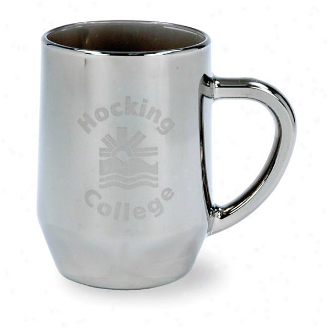 10 Oz. Lusterware Fullplate Glass Hayworth Mug