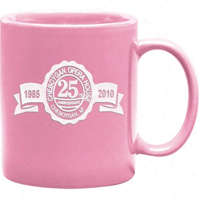 11 Oz.deep Etched Pink Hampton Mut