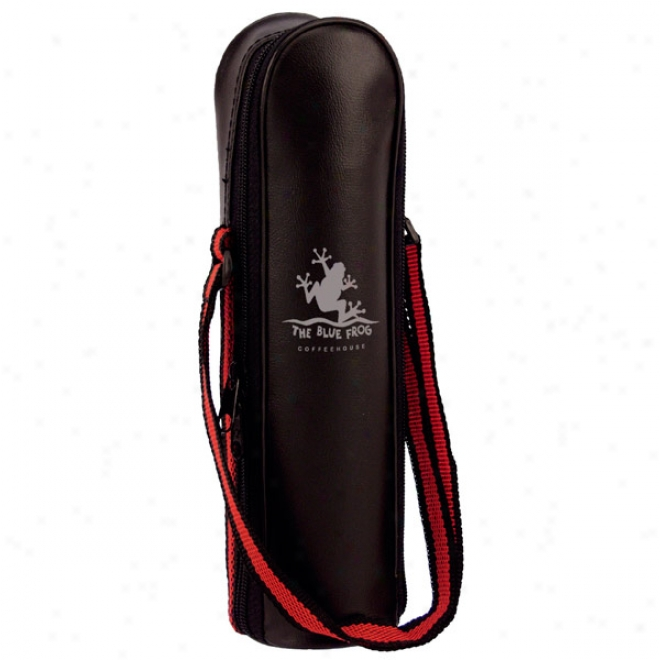 1/2 Liter Black Vinyl Carrying Case With Handle