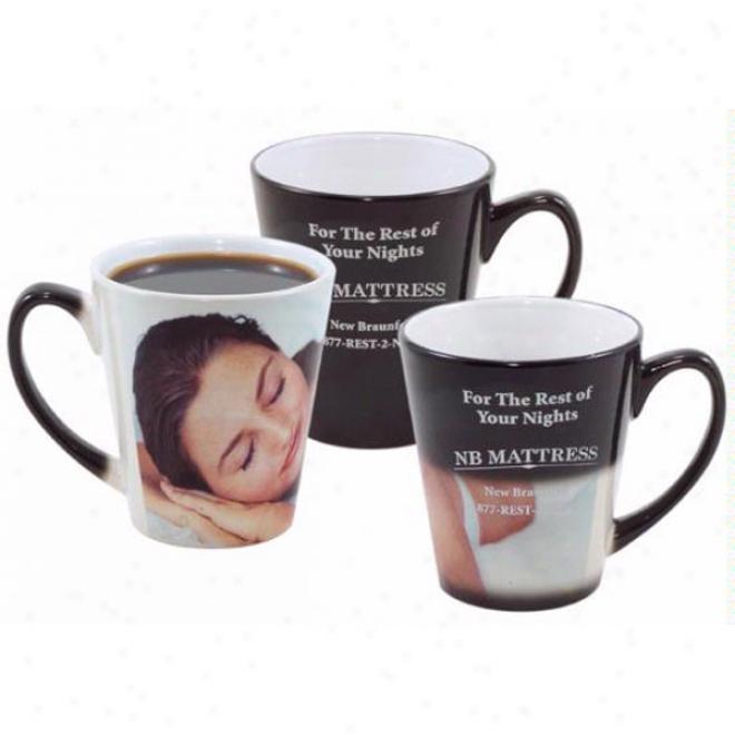 12oz. Mystique&reg Full Color Coffee House Mug