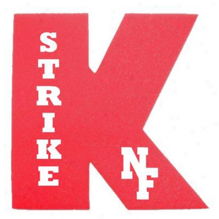 "12"" Foam Strike-k   Foam Letter ""k"""