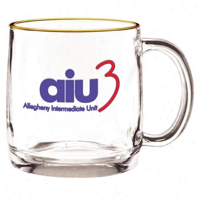 13 Oz. Nordic Glass Coffee Mug