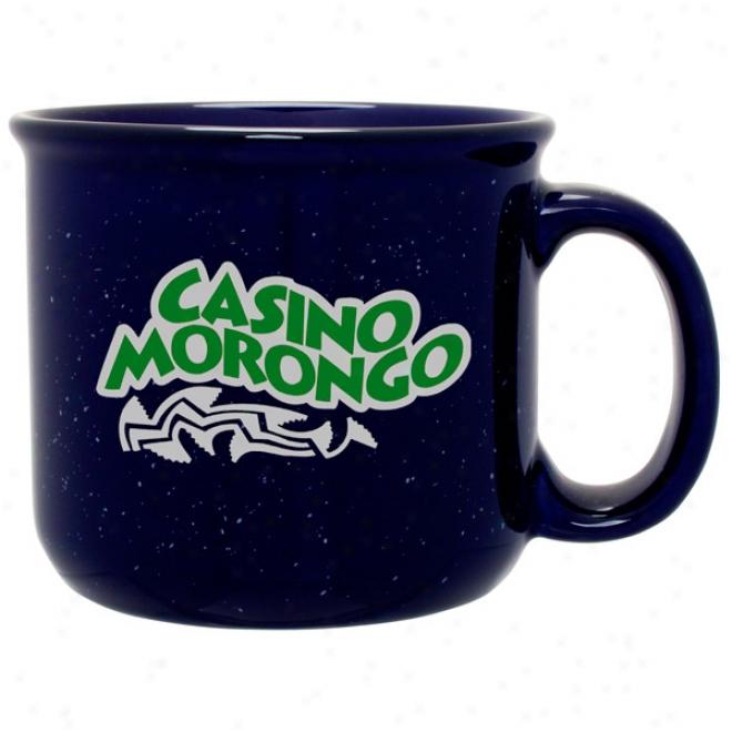 14 Oz. Blue Camper Mug