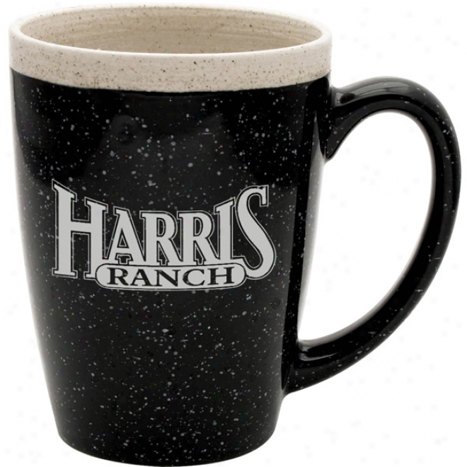 16 Oz. Black Adobe Mug
