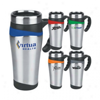 16 Oz. Color Touch Stainless Mug Us Design Patent Pending