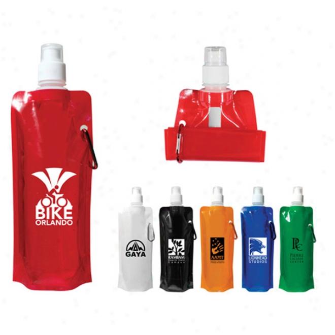 16 Oz. Folding Water Bottie