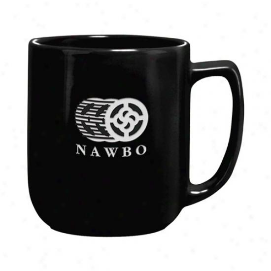17 Oz. Deep Etched Black Noble Mug