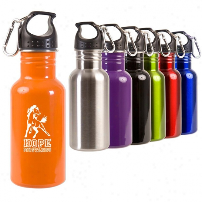 17 Oz. Unsullied Steel Adventure Bottle