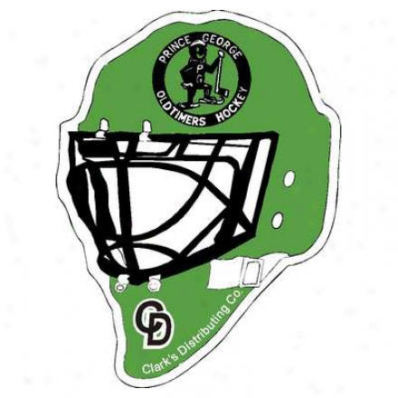 "17.5"" X 13"" Hockey Helmet And Revel"