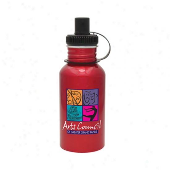19oz Red Oasis Bottle W/digital Suit