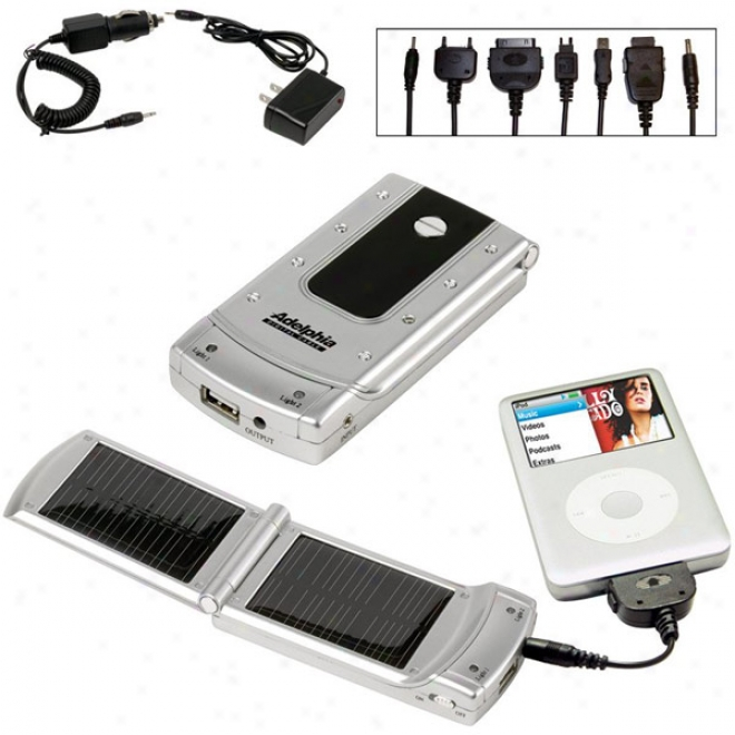 2 Bank Solar Charger