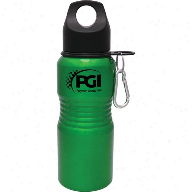 20 Oz. Green Aluminum Zuma Collection Bottle
