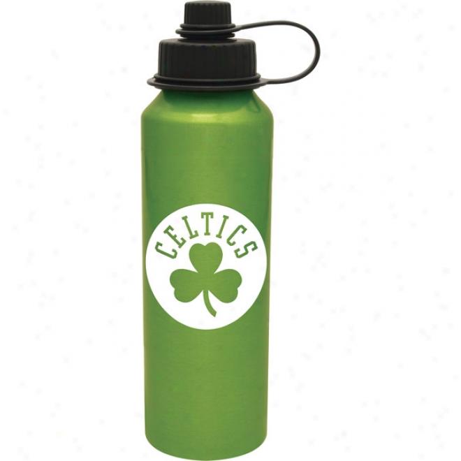 20 Oz.. Usa Made Bpa Free Aluminum Bottle - Green