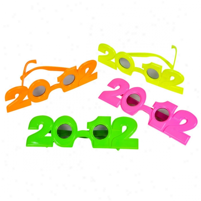 2012 Neon Sunglasses