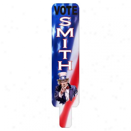 "22"" Rally Sign - Corrugated Plastic"