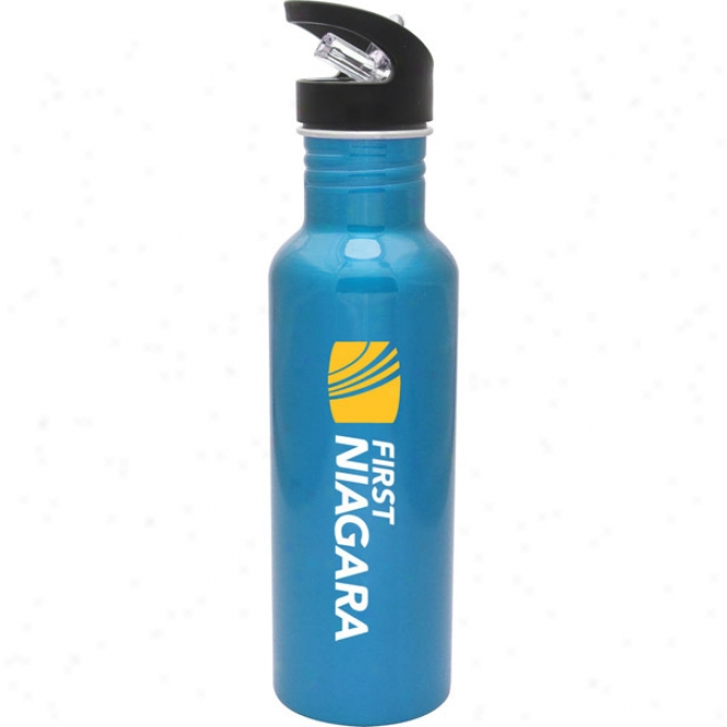 27 Oz Bpa Free Blu eAluminum Hiker Bottle