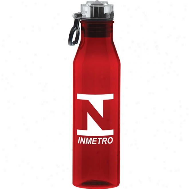 27 Oz Tritan Red Flip N Sip Waterbottle
