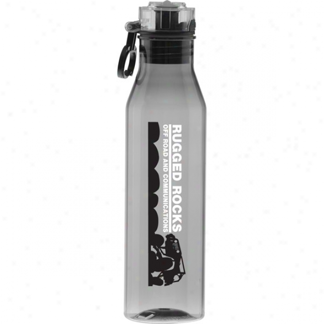 27 Oz Tritan Smoke Flip N Sip Waterbottle