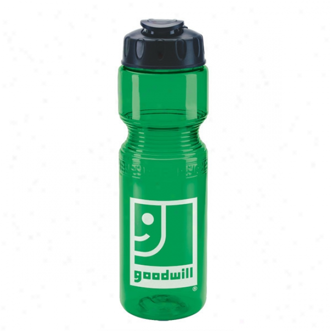 28 Oz Poly - Fresh Lite Sports Bottle