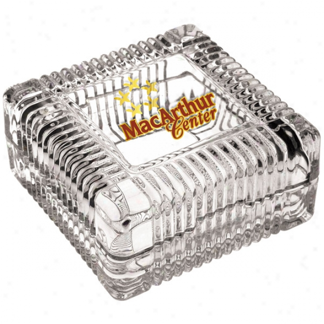 3-7/8 Inch Square Jewerly Box