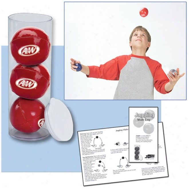 3-ball Juggling Set In Case