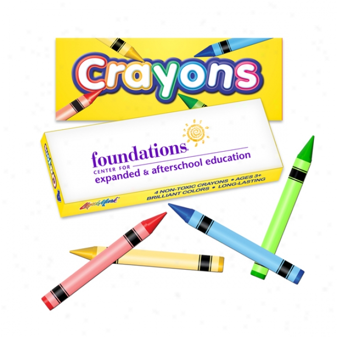 4 Color Crayon Spar - Best Quality