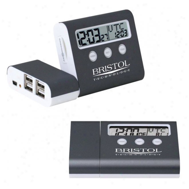 4 Por Usb Hub   Planet Time Clock